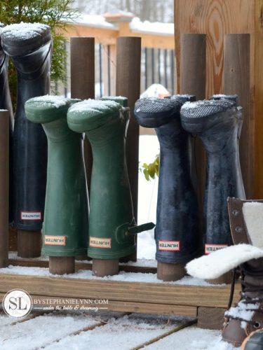 Diy Wooden Boot Rack Elbow Room