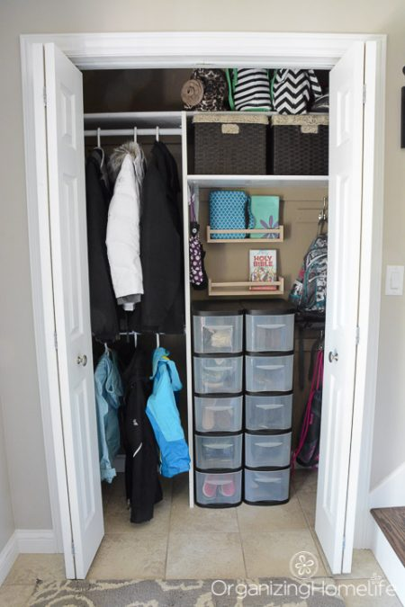 Foyer Closet Organization : Amazing entryway storage hacks ideas you ll love