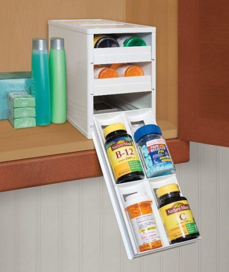 youcopia ministack spice, vitamin, and medicine organizer