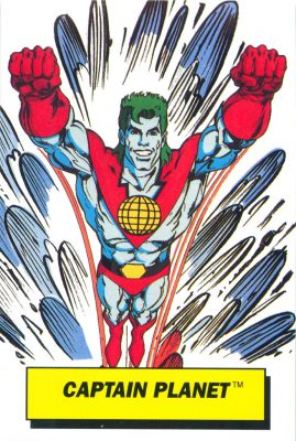 captain planet dunkin donuts card