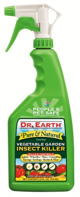 dr earth vegetable garden insect killer spray bottle