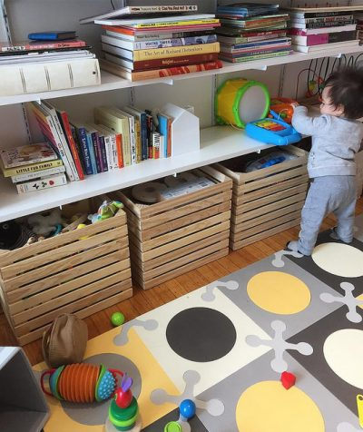 custom wooden toy storage crates