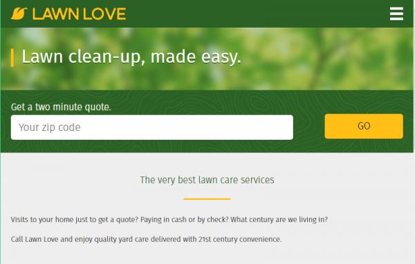 lawn love website