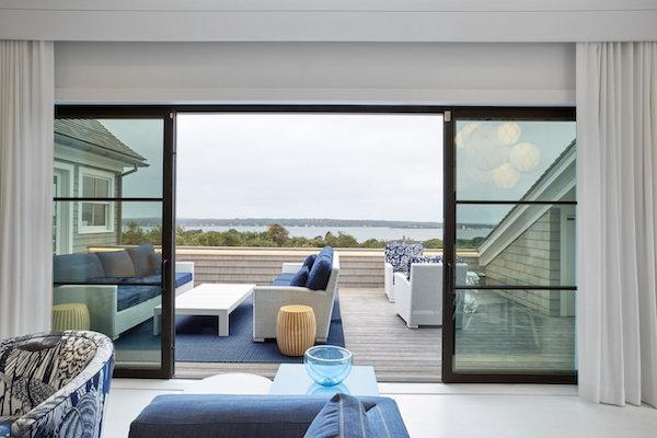 Ghislaine Vinas Deck Sliding Glass Doors Elbow Room