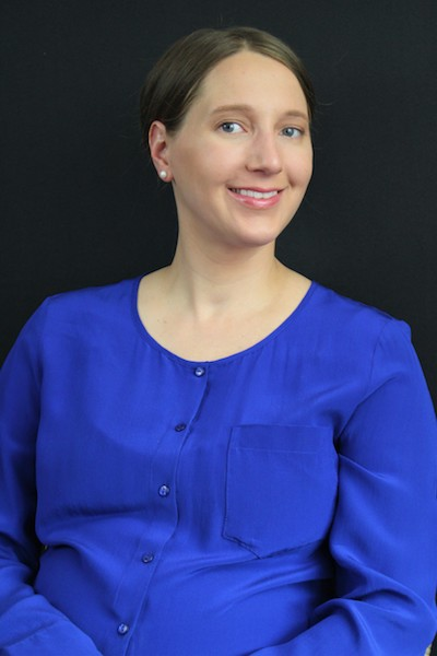 a headshot of professional organizer Jessica Decker