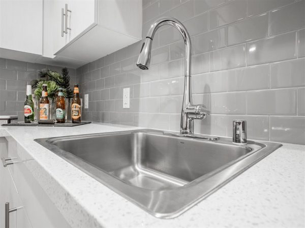 upgrade kitchen faucet