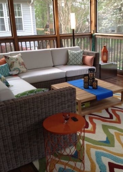 furnished deck room by marisa moore