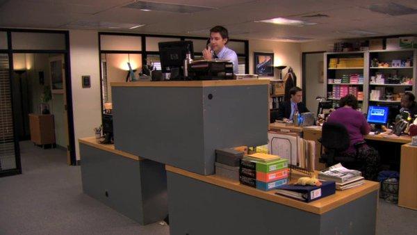 Jim quad desk
