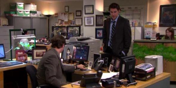 Dwight mega desk
