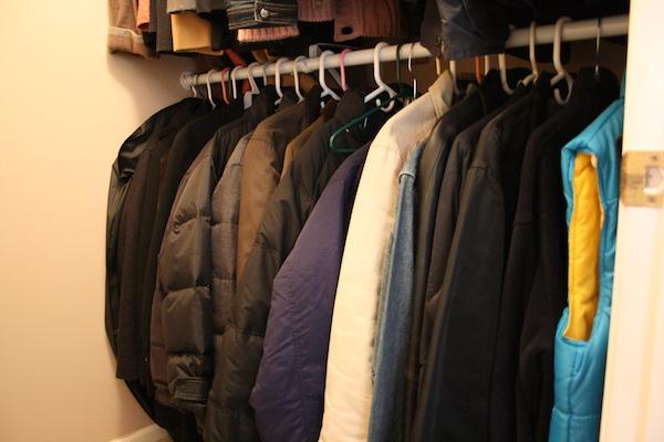 outerwear closet storage