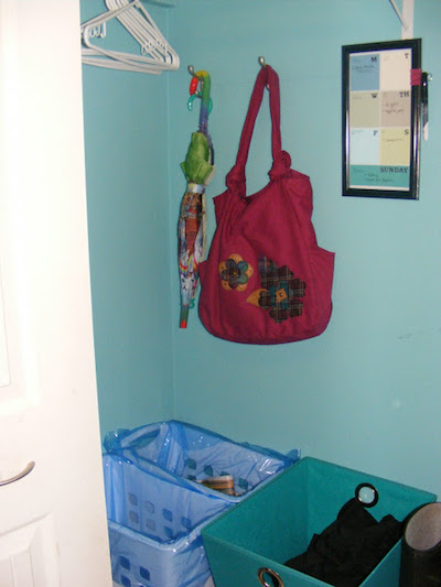 wall hook bag storage
