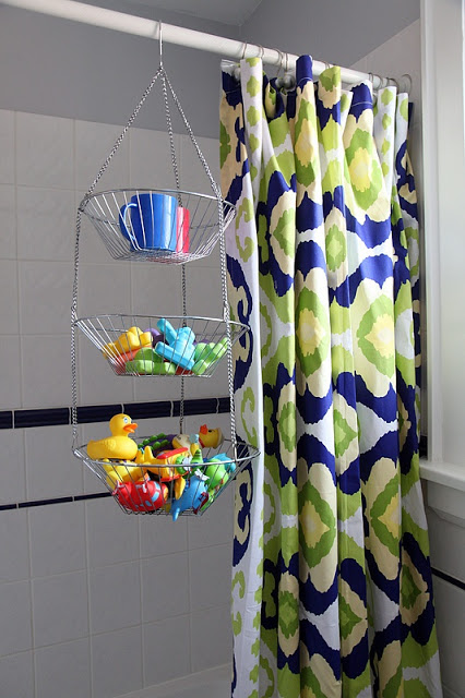 hanging fruit basket shower caddy from 8footsix