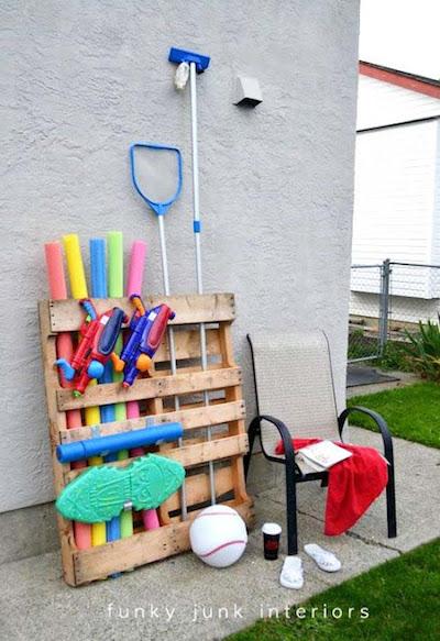 pallet pool storage