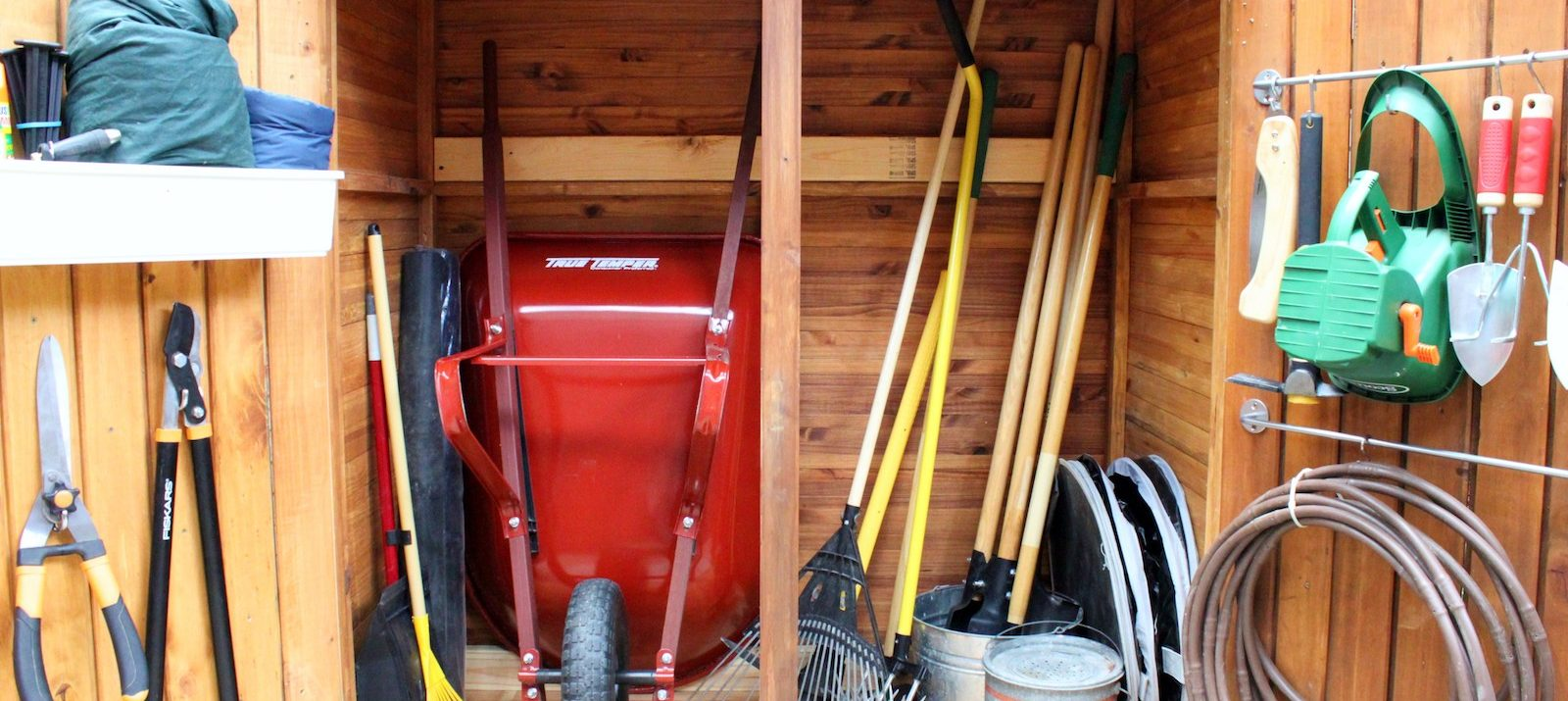 backyard storage ideas, tips, hacks, and solutions