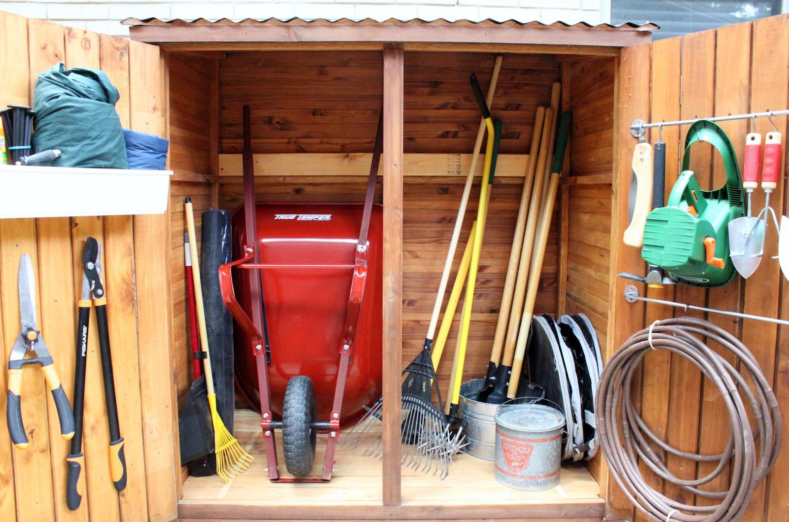 Backyard Storage Ideas