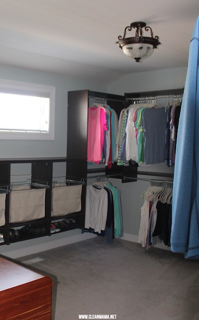 Master Bedroom Closet Laundry Hamper
