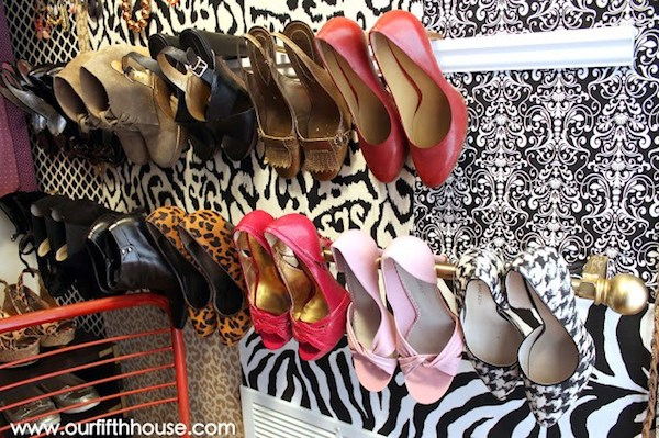 crown moudling heel storage