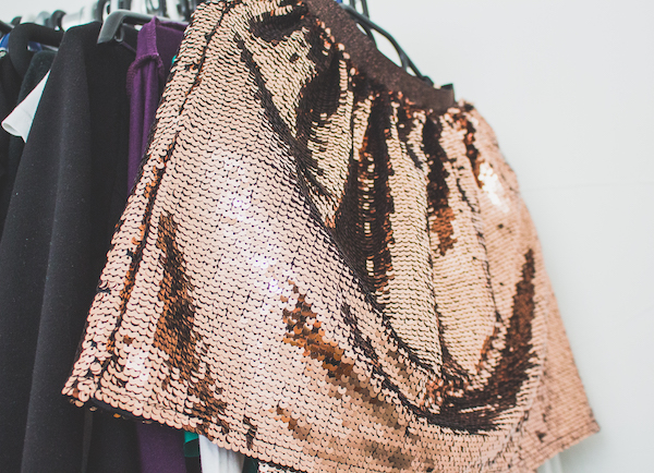 sequin skirt dry clean only