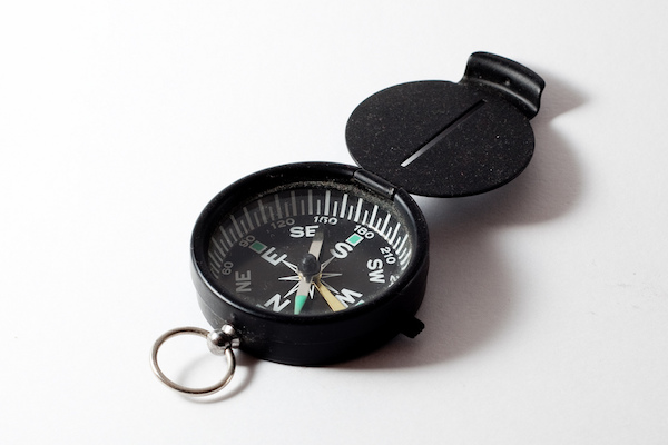 hiking compass navigation
