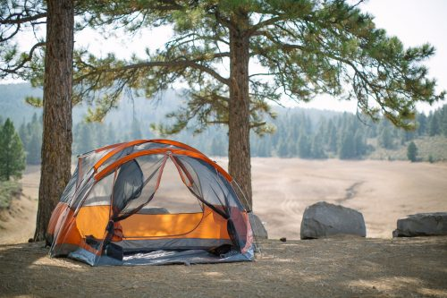 outdoor-tent-camping-woods