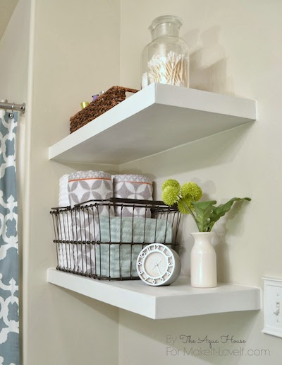 Ways To Organize A Bathroom Without Drawers And Cabinets