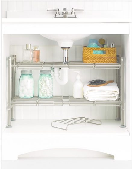 Space Saving Bathroom Furniture. 8. 88 Main Expandable Under Sink Storage  Rack