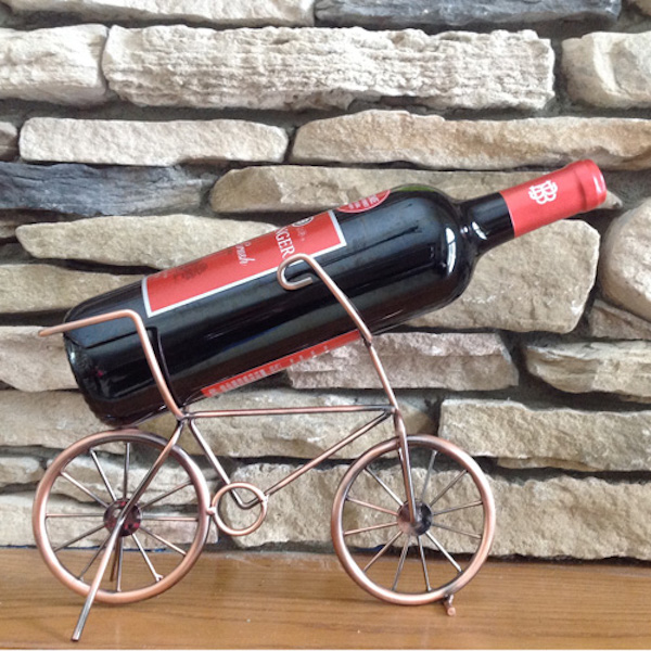 bicycle wine bottle holder
