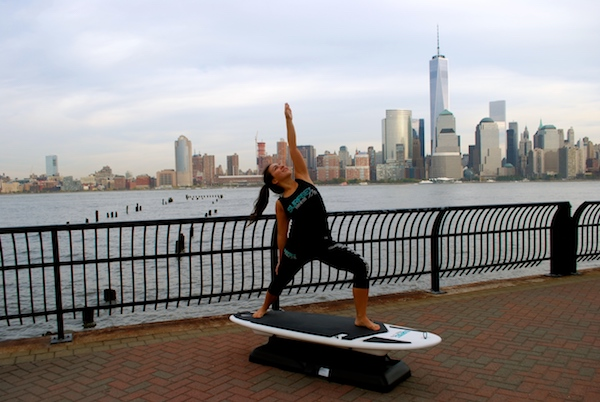 surfset instructor nyc skyline
