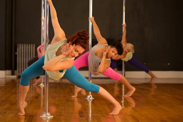 body and pole dance fitness