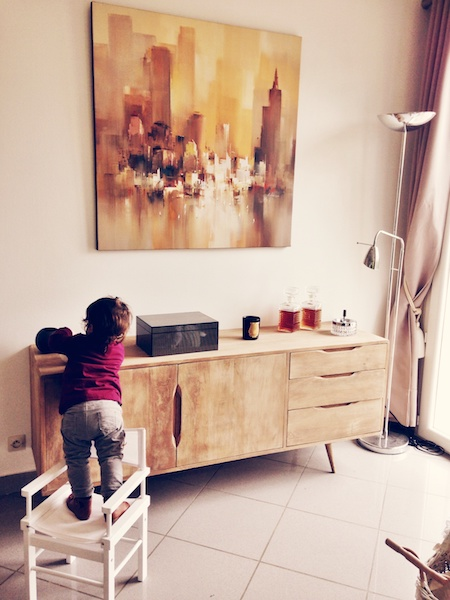 baby proofing a home