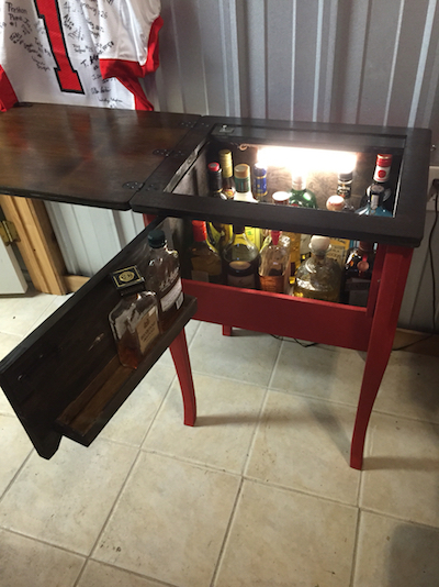 DIY-sewing-machine-liquor-cabinet