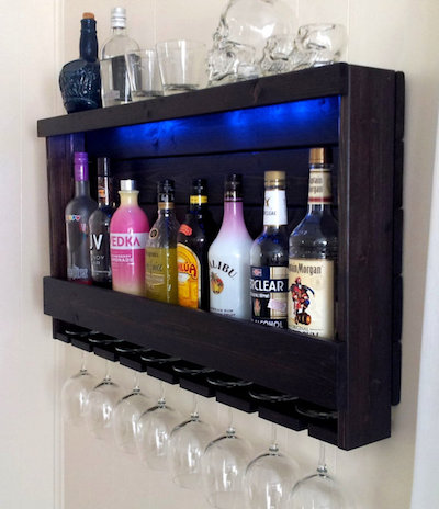 wine rack liquor storage