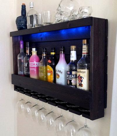 Wine Rack Liquor Storage