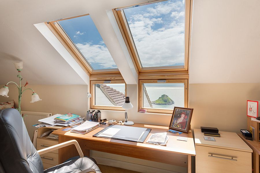 Charmant Home Office Skylight Natural Light