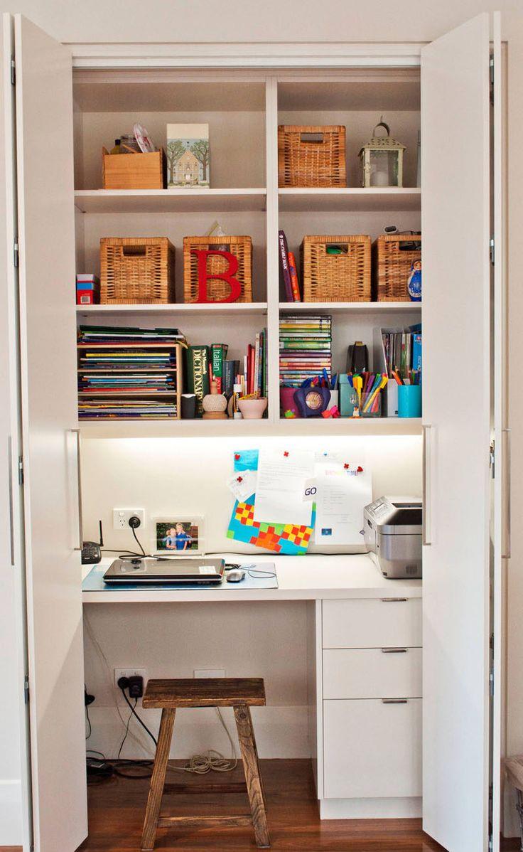 Closet Office Desk Guest Desk Decorating Ideas Elbow Room