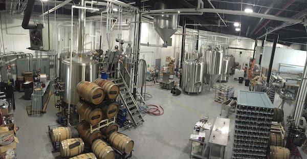 bronx brewery brew room