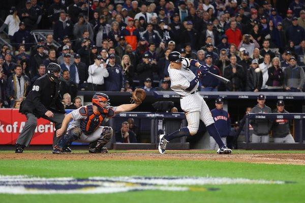 new york yankees at bat