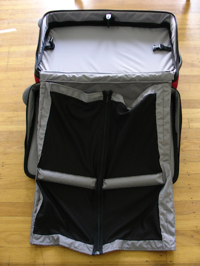 garment bag for a suit