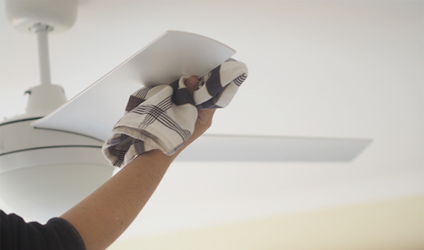 Cleaning ceiling fan blades makespace blog cleaning ceiling fan blades aloadofball Gallery