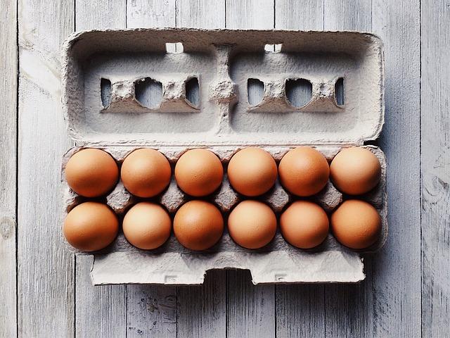 an egg carton