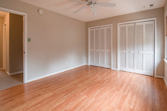 Clean, hardwood floors